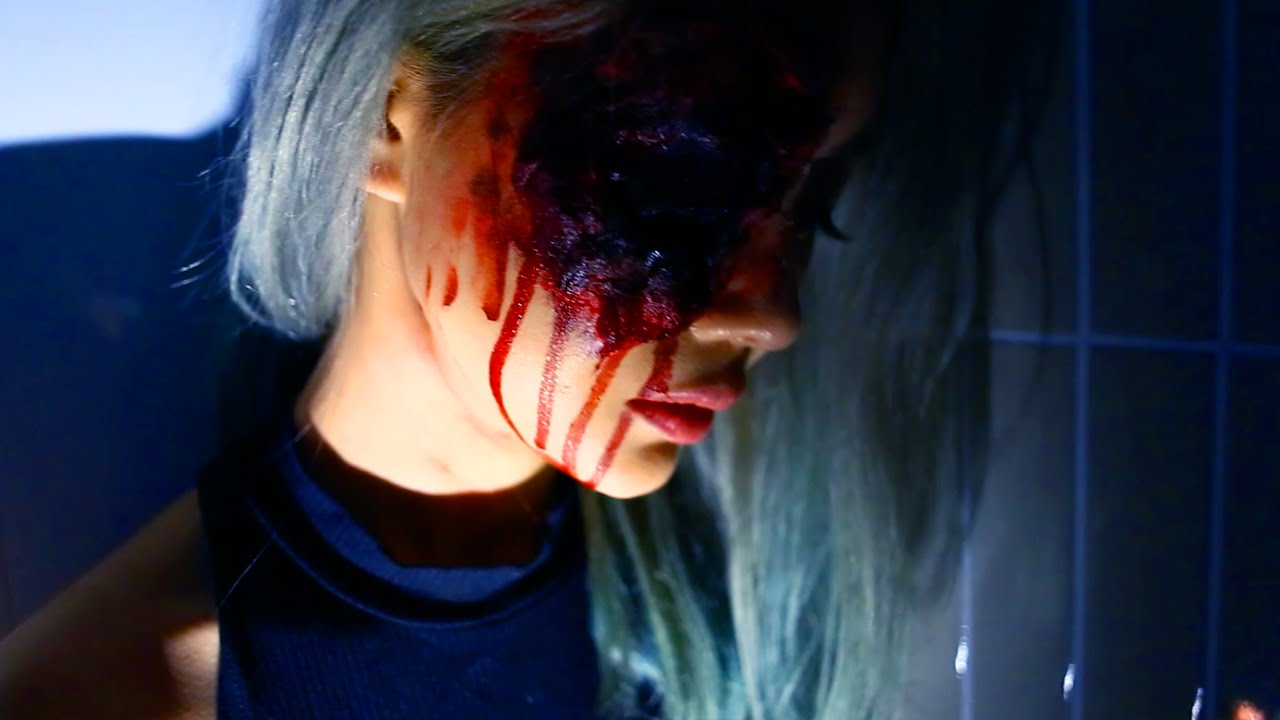 Beginners Halloween Makeup Tutorial ♥ The Bloody Eye ♥ Wengie ...