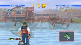 Sega Bass Fishing - Dreamcast Collection (720p HD) - DVDfeverGames