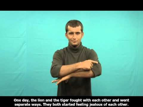 Odia Story in Indian Sign Language