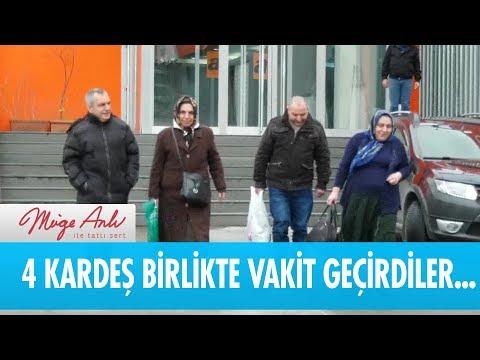 4 Kardeş birlikte hasret giderdi  - Müge Anlı ile Tatlı Sert 16 Ocak 2019