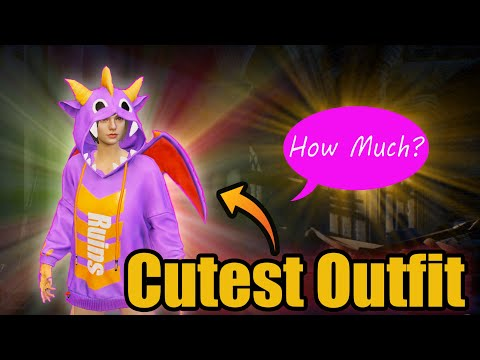 The CUTEST OUTFIT EVER  |  Merry Stegosaurus Set  |  How Much Will It Cost?- PUBG Mobile