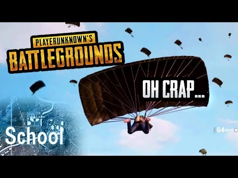 EVERYONE LANDED AT THE SCHOOL... 😳 (PUBG Mobile)