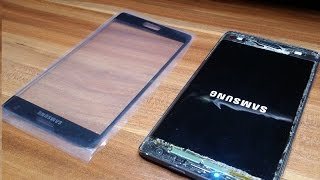 Galaxy Note Edge Glass Replacement (Part 3)