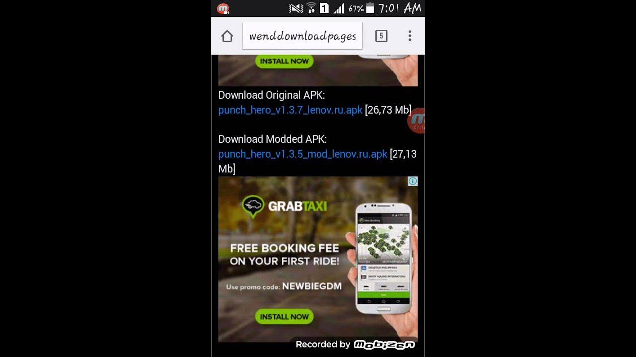 punch hero mod apk download