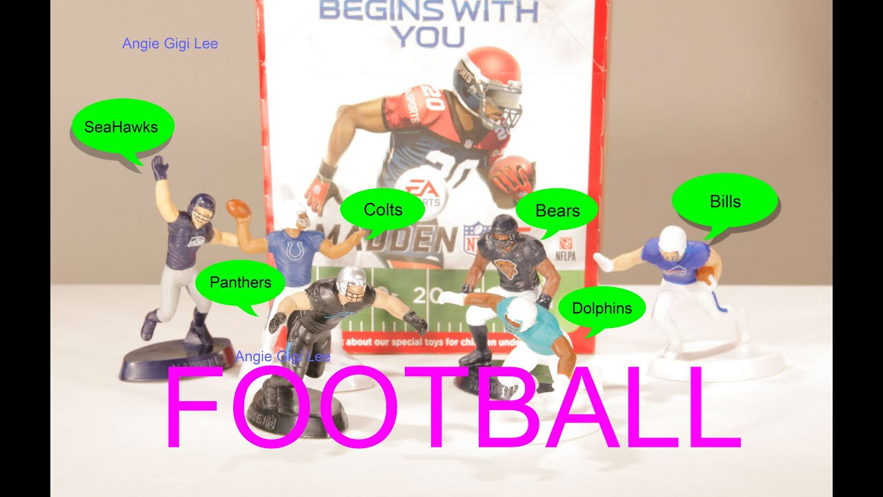 McDonalds Happy Meal Toy NFL Football