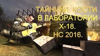 Тайники Кости в лаборатории X 18. Народная Солянка 2016.