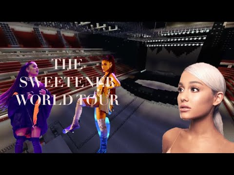 ARIANA GRANDE | THE SWEETENER WORLD TOUR FANMADE STAGE | MINECRAFT STAGES