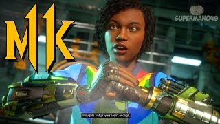 "I CAN'T GET THIS BRUTALITY... - Mortal Kombat 11: ""Jacqui Briggs"" Gameplay"