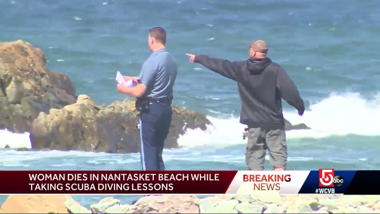 Woman dies at beach while taking scuba diving lessons