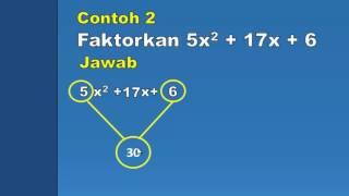 Download Video Cara Mudah dan Cepat Memfaktorkan ax2 + bx + c (part 2) MP3 3GP MP4