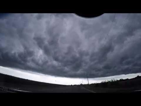 Northwest Indiana Shelf Cloud 8-19-16