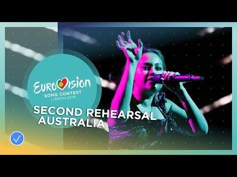 Jessica Mauboy - We Got Love - Exclusive Rehearsal Clip - Australia - Eurovision 2018
