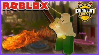 JE SUIS UNE NOOB ! | Roblox Dungeon Quest