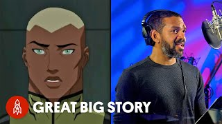 "Meet the Voice Behind Cyborg, Aqualad and ""Lion King's"" Rafiki"