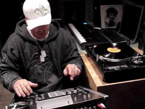 DON PAUL PRODUCING A BEAT ON THE ROLAND MV 8000