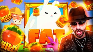 ROSHTEIN Big Wins  on Fat Rabbit, Sweet Bonanza and Fruit Patry  SLOTS - TOP 5 Mega wins of the week