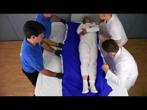 Corso oss trasferimento paziente dal letto alla corro - Mobilizzazione paziente emiplegico letto carrozzina ...