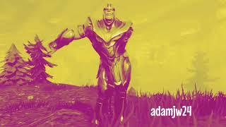 Fortnite Dance Bass Boosted And NEW THANOS GAMEPLAY!