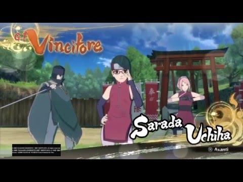 NARUTO SHIPPUDEN Ultimate Ninja STORM 4 - Family Uchiha Vs Family Uzumaki