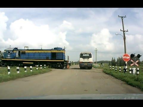 Unfälle an Bahnübergängen