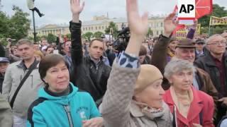 'Kadyrov Bridge' plan sparks demo in Russia
