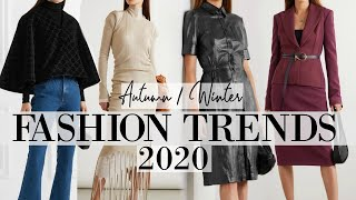 These are the clothes we'll be wearing this Autumn & Fall | Fall Autumn 2020 Fashion Trends
