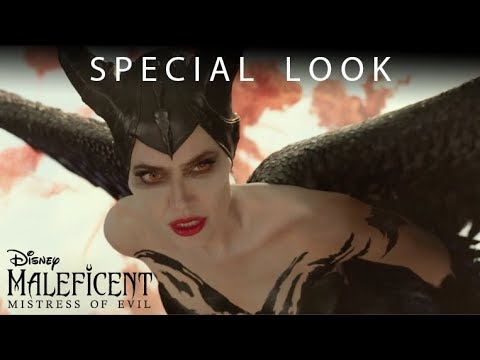 Maleficent Mistress Of Evil Special Look In Theaters Friday