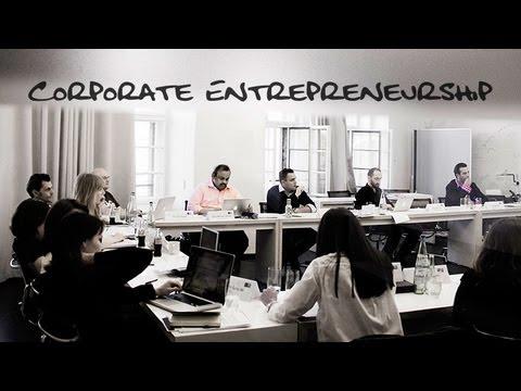 'Corporate Entrepreneurship & Innovation'