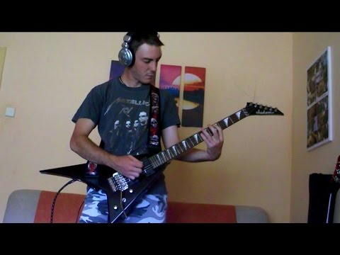 Manowar - Die For Metal (Guitar Cover) [720p HD with HQ Sound]
