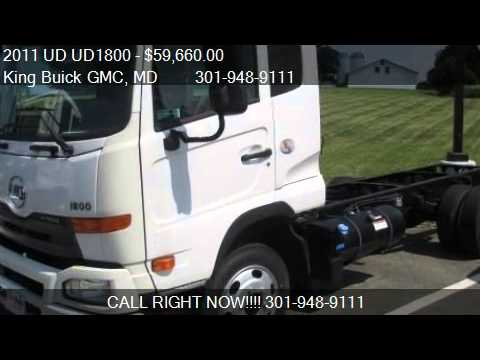 2011 Ud Ud1800 Chassis For Sale In Gaithersburg Md