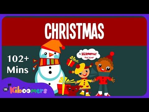 Jingle Bells | 2 Hour Christmas Songs for Kids | Christmas Carol | The Kiboomers