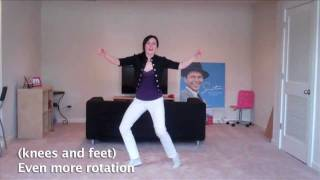 Lindy Hop Steps Made Easy: Swivels! (solo jazz dance moves)