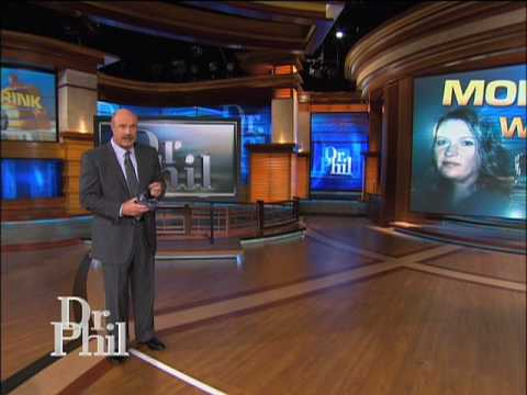 Dr. Phil Uses Goggles to Demonstrate How a Drunken Person ...  Dr Phil Show Set