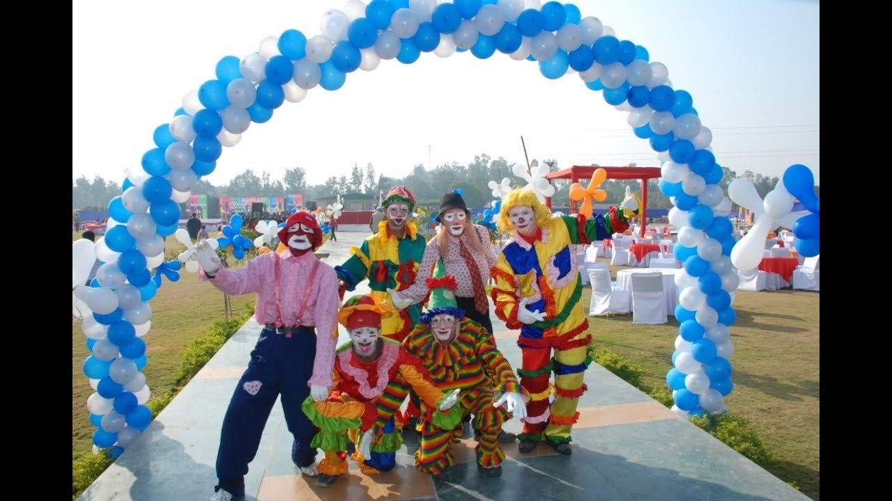 The Best Corporate Family Fun Days Carnival Theme Party
