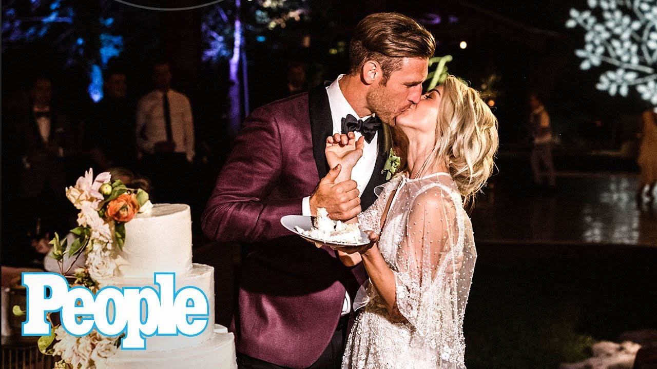 Inside Julianne Hough Brooks Laich S Elegant Idaho Wedding Reception People Now People