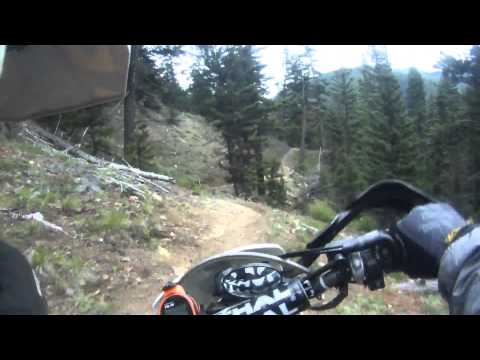 95% of Taneum South Fork Trail Most Difficult Dirt Bike Riding