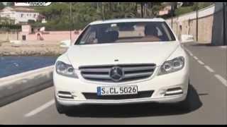 Тест-драйв Mercedes-Benz Cl500 и Mercedes-Benz CL63 AMG (AutoTurn.ru)
