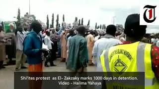 Again, Shi'ites protest in Abuja as El- Zakzaky marks 1000 days in detention