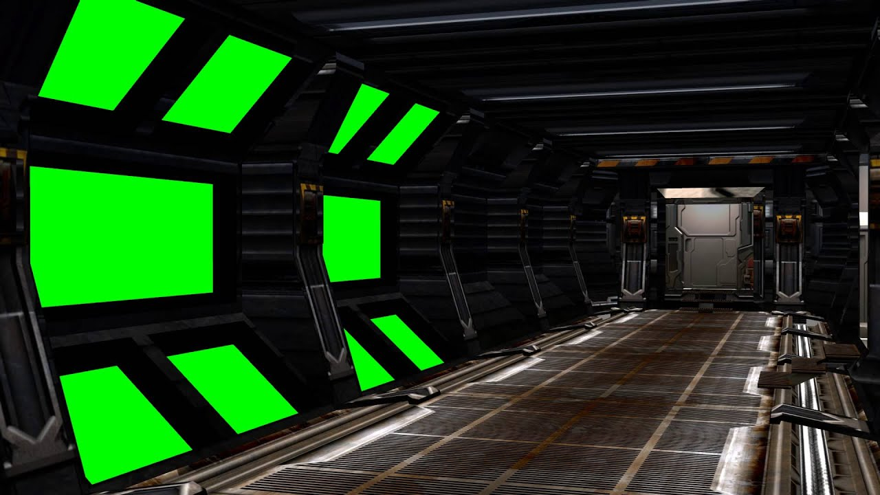 Fusion Fall Wallpaper Hd Spaceship Interior With Sound Green Screen Set A Youtube