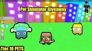 [ROBLOX] PET SIMULATOR 1 SUB+1 LIKE = RAINBOW CORE SHOCK GIVEAWAY#1