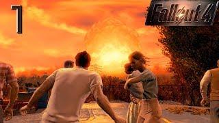 Fallout 4 прохождение на геймпаде часть 1 Ядерный взрыв