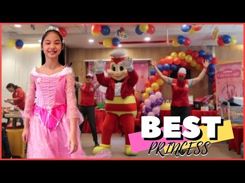 BEST PRINCESS SA JOLLIBEE PARTY | Paano si Alexa ang nanalo?!! | Aurea & Alexa