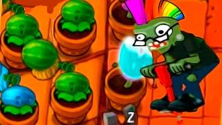 Игра - Растения Против Зомби - смотреть прохождение от Flavios #50