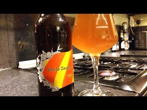 (4K) Siren Uncle Zester Sour Citrus Braggot By Siren Craft Brew | Craft Beer Review