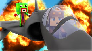 Minecraft - WHO'S YOUR DADDY? - BABY FLYS JET !? (Baby Blows Up World) w/ UnspeakableGaming