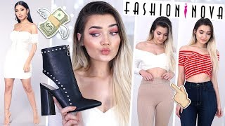 HUGE SPRING/SUMMER FASHION NOVA TRY ON HAUL!
