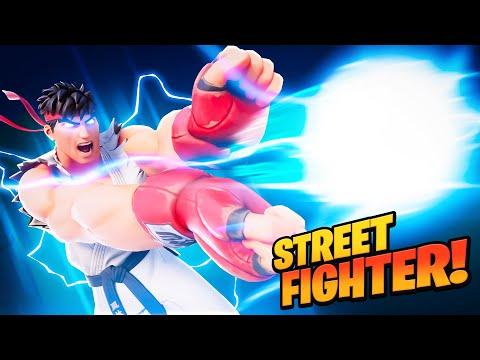 STREET FIGHTER in FORTNITE!