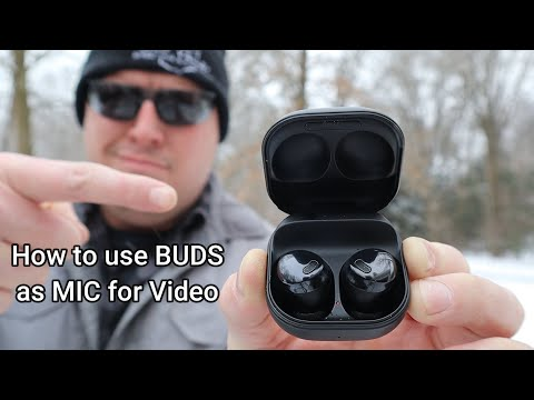 How to use Galaxy Buds Pro as a Mic for YouTube Videos ~ S21 Ultra