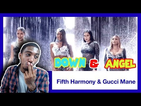 Fifth Harmony ft. Gucci Mane Perform 'Down' & 'Angel' Medley | 2017 VMAs | *REACTION*