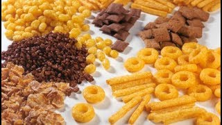 Кукурузные хлопья 6 видов.Много вкусов.Обзор хлопьев.